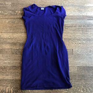 Vintage Cut Loose stretch cotton cap sleeve dress